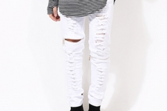 sand-colour-white-black-skinny-ripped-jeans-for-men-Distressed-biker-kanye-west-hba-brand-hip